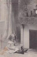 CPA Fantaisie- Enfant,LE NOEL DE NOS CHERIS.  CPA De N° 1 à N° 8 - Children