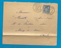 Cote D'Or - Autricourt Pour Mussy Sur Seine (Aube). CàD Sur Sage. 1900 - 1877-1920: Semi Modern Period
