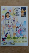 Carte Maxi Illustration De Roland Irolla : Jonglissimo à Saint-Brice Courcelles - Cirque - Cartes-Maximum