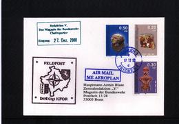 Kosovo Interesting KFOR Letter (3) - Kosovo
