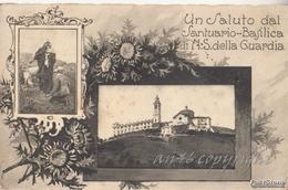 VALPOLCEVERA_(Genova)_Un Saluto Dal Santario-Basilica Di N.S.della Guardia_-Originale 100% - Genova (Genoa)