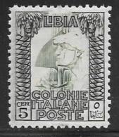 Libya, Scott # 49a Mint Hinged Roman Legionary,perf 11, 1924 - Libya