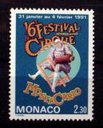 MONACO #1743.   2.30fr, 16th International Circus Festival. MNH (**) - Monaco