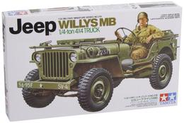 Jeep Willys MB 1/35 ( Tamiya ) - Military Vehicles