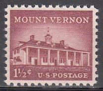 UNITED STATES   SCOTT NO. 1032   MINT HINGED       YEAR  1954 - Nuevos