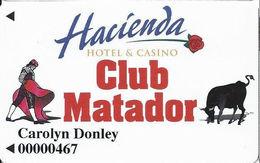 Hacienda Casino - Boulder City, NV - 1st Issue Slot Card - 2.5cm PPC On Reverse - Casino Cards
