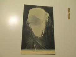 RAILWAY  , BEATENBERGBAHN  , OLD POSTCARD   ,  0 - Ouvrages D'Art