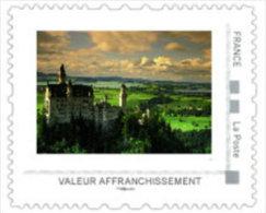 France 2014 - Wonders Of The World - Neuschwanstein Baviera Germany  Mnh - Geography