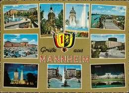 Grüße Aus Mannheim Mehrbildkarte - Non Classificati