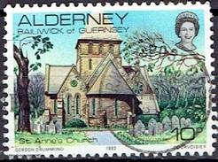 ALDERNEY # FROM 1983 STAMPSWORLD 4 - Alderney