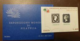 Italia 85  Filatelia Vignette Queen  #4795 - Italy