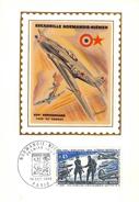 Carte Premier Jour  1969 Pilote Français Et Soviétique Sur Avion Yak 3 XXV ème Anniversaire Normandie Niémen - Storia Postale
