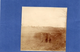 Villers - Bretonneux. Vue Generale Depuis La Route De Cachy En 1915 - 16. - Guerre, Militaire