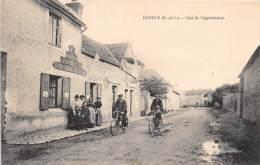 28 - EURE ET LOIR - HAVELU - Café De L' Agriculture - Beau Cliché Animé - Autres Communes