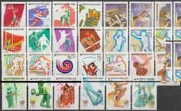 Corée Du Sud 1985 à 1988. Jeux Olympiques De Séoul. 27 Timbres Différents Neufs Sans Charnières MNH. Cote Michel 32.80 & - Ete 1988: Séoul