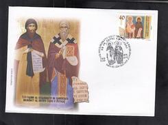 REPUBLIC OF MACEDONIA, 2013, FDC, MICHEL 661 -1150 YEARS ST. CIRIL&METHODIUS / SLOVAKIA, CZECH REPUBLIC *** - Macedonië