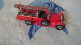 """Matchbox """" Models Of Yesteryear"""" Y-7 Rolls-Royce Feuerwehr - Andere Sammlungen"""
