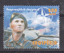 Albanie 2011 Mi Nr 3343 ; Vredestroepen, NATO, Tank - Albanië