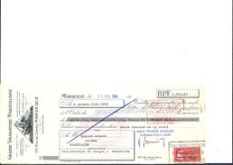 Ref 22/ 13, Marseille, Grande Vinaigrerie Marseillaise, 1966, Pour Roquevaire - Banque & Assurance