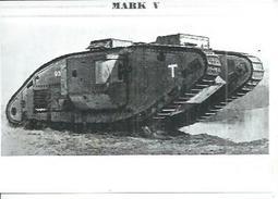 "CHAR ANGLAIS "" MARK V MALE ""     ( - PHOTOS ARCHIVES ) CT 3119 - Matériel"
