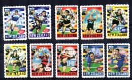 New Zealand - 1999 - U-Bix Rugby Super12 Championships (Perf11½) - Used - Nouvelle-Zélande