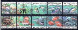 New Zealand - 1993 - Marine Life - Used - Nouvelle-Zélande