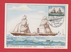 Journée Du Timbre   -- Toulon   --  27/3/1965 - 1960-1969