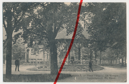 Hasselt - Place Leopold - Kiosk - Briefstempel Der Feldartillerie-Schießschule Der 4. Armee In Hasselt Belgien - Hasselt