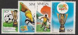 Sénégal - 1988 - N°Yv. 748 à 761 - Football - Neuf Luxe ** / MNH / Postfrisch
