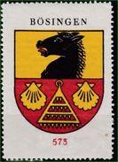 Sammelbilder, Kaffee Hag, Coffeinfreier Bohnen - Kaffee Nr: 573 Bösingen - Tea & Coffee Manufacturers