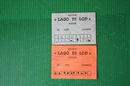 CHAMOIS - SCIOVIA LAGO DI LOD  - 1972 - Sport Invernali