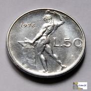 Italia - 50 Lire - 1978 - 1946-… : República