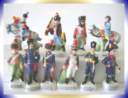 Napoléon, Soldats De Plomb .. Serie Complète .. Ref AFF :78-2004...(pan 009) - Histoire