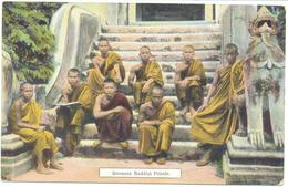 Burmese Buddist Priests - Myanmar (Burma)