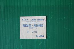 LIMONE PIEMONTE - SEGGIOVIA DEL CROS - 1965 - Sport Invernali