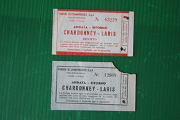 CHAMPORCHER - FUNIVIA CHARDONNEY-LARIS - 1971 - Sport Invernali