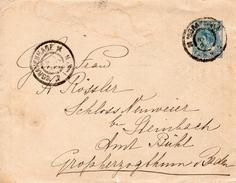 Envelop G9 Van 'sGravenhage Naar Neuweier - Postal Stationery