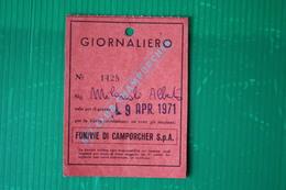 CHAMPORCHER - GIORNALIERO - 1971 - Sport Invernali