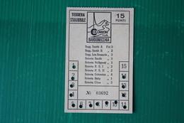 BARDONECCHIA - TESSERA A PUNTI  COLOMION LES ARNAUDS - 1971 - Sport Invernali