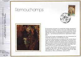 Feuillet Tirage Limité CEF 167 1833 Remouchamps Grottes - 1971-1980