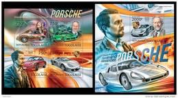 TOGO 2012 - F. Porsche - YT 2980-3 + BF605; CV = 29 € - Togo (1960-...)