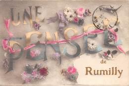 74 - HAUTE SAVOIE / Rumilly - Une Pensée - Belle Carte Fantaisie - Rumilly