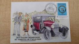 Carte Maxi : Voiture De Collection - Reims + Timbre Personnalisé - 2010-...