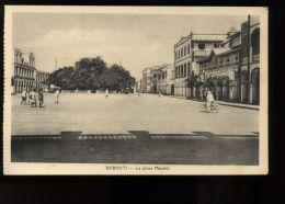 B3445 DJIBOUTI - LA PLACE MÉNÉLIK - Gibuti