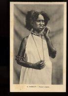 B3448 DJIBOUTI - ETHNICS - FEMME INDIGÈNE - Gibuti