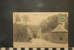 CP, 54, Longwy Haut - Porte De France, Trazmway, Animée, Soldat - Longwy
