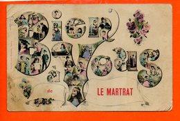 71 LE MARTRAT : Bien à Vous (plis Coins Gauches Et Pli Milieu) - France