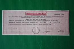 OBBLIGAZIONI ISTITUTO MOBILIARE ITALIANO   - 1970 - G - I