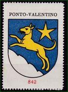 Sammelbilder, Kaffee Hag, Coffeinfreier Bohnen - Kaffee Nr: 842 Ponto Valentino - Thé & Café