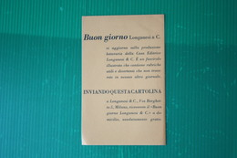 EDITORE LONGANESI - CARTOLINA RICHIESTA CATALOGO  - ANNI 50 - Books, Magazines, Comics